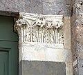 Taglia di biduino, portale laterale della pieve dei Santi Ippolito e Cassiano (San Casciano di Cascina), xii secolo, 03.jpg
