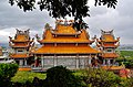Taipeh Guandu Temple Haupthalle Rückseite 3.jpg