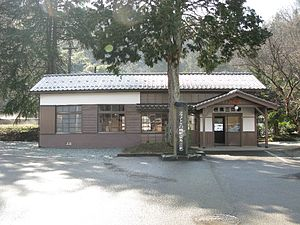 Kōnotori-no-sato Station - Tajima-Mie Station, February 2010