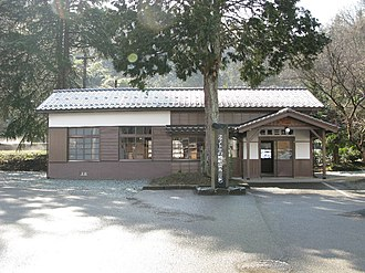 Kōnotori-no-sato Station - Tajima-Mie Station, February 2010
