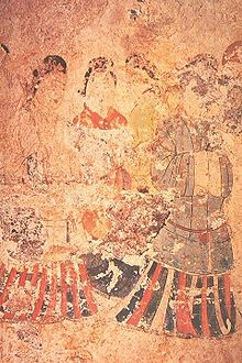 Asian mural painting history