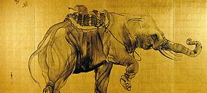 Takeuchi Seihō - Elephants (1904)