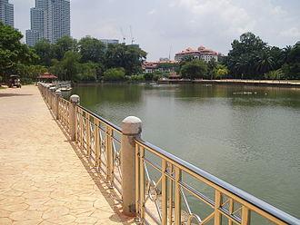 Lake Gardens, Kuala Lumpur - Image: Taman Tasik Perdana