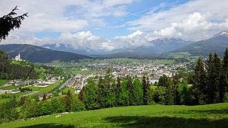Tamsweg District - Image: Tamsweg Panorama