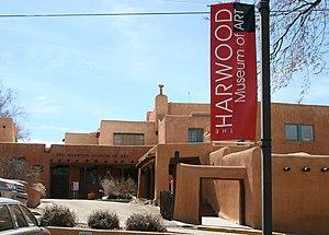 Harwood Museum of Art - Harwood Museum of Art, Ledoux Street, Taos, New Mexico