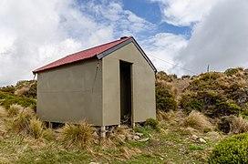 Tarn Hut, Puketeraki Forest Conservation Area, Canterbury, New Zealand 12.jpg