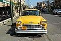 Taxi de New York du restaurant Le New York situé place Saint-Antoine de Padoue au Chesnay le 8 avril 2017 - 3.jpg
