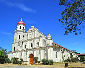 Abra (province) - Santa Catalina de Alejandria Parish Church in Tayum