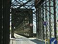 Tczew, silniční most, oddělené části konstrukce.JPG