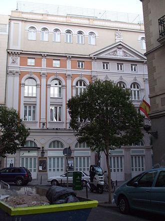 Theatre of María Guerrero - Image: Teatro Maria Guerrero DSCF0469