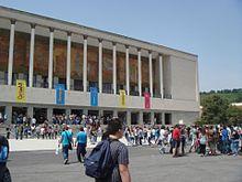Il Teatro Mediterraneo allestito durante il Napoli Comicon 2013