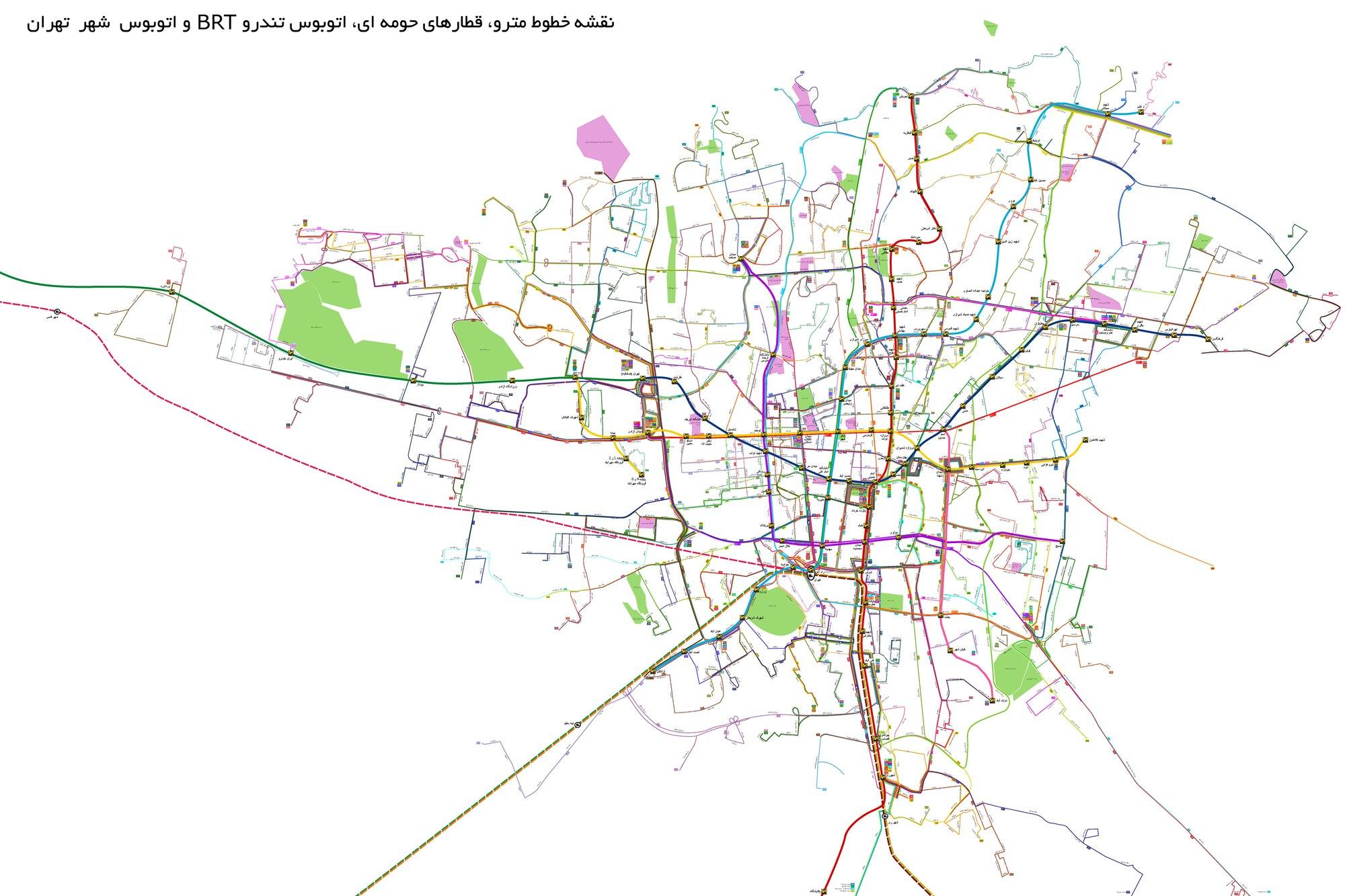 شرکت واحد اتوبوسرانی تهران و حومه