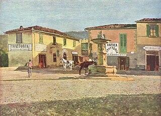 Settignano human settlement in Florence, Tuscany, Italy