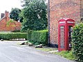 Telephone box, Bottlesford - geograph.org.uk - 1427548.jpg