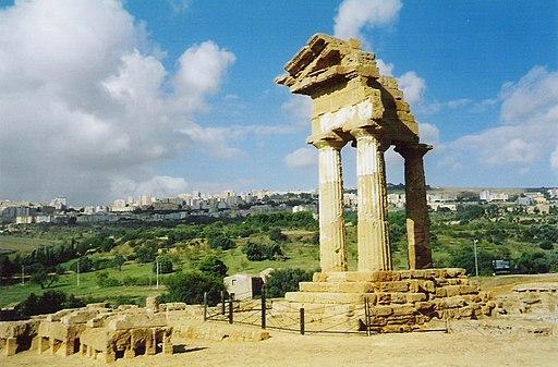 Tempio dei Dioscuri Agrigento