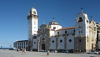 Basilica of Candelaria cultural property in Candelaria, Spain