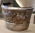Tesoro di hildesheim, argento, I sec ac-I dc ca., frammento di coppa con arieti.JPG