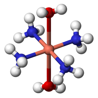 Metal ammine complex class of chemical compounds
