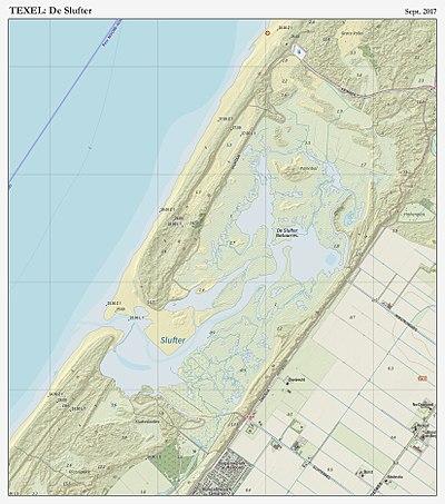 Karte Texel.De Slufter Wikipedia