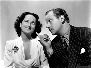 That Uncertain Feeling (film) - Merle Oberon and Melvyn Douglas in That Uncertain Feeling