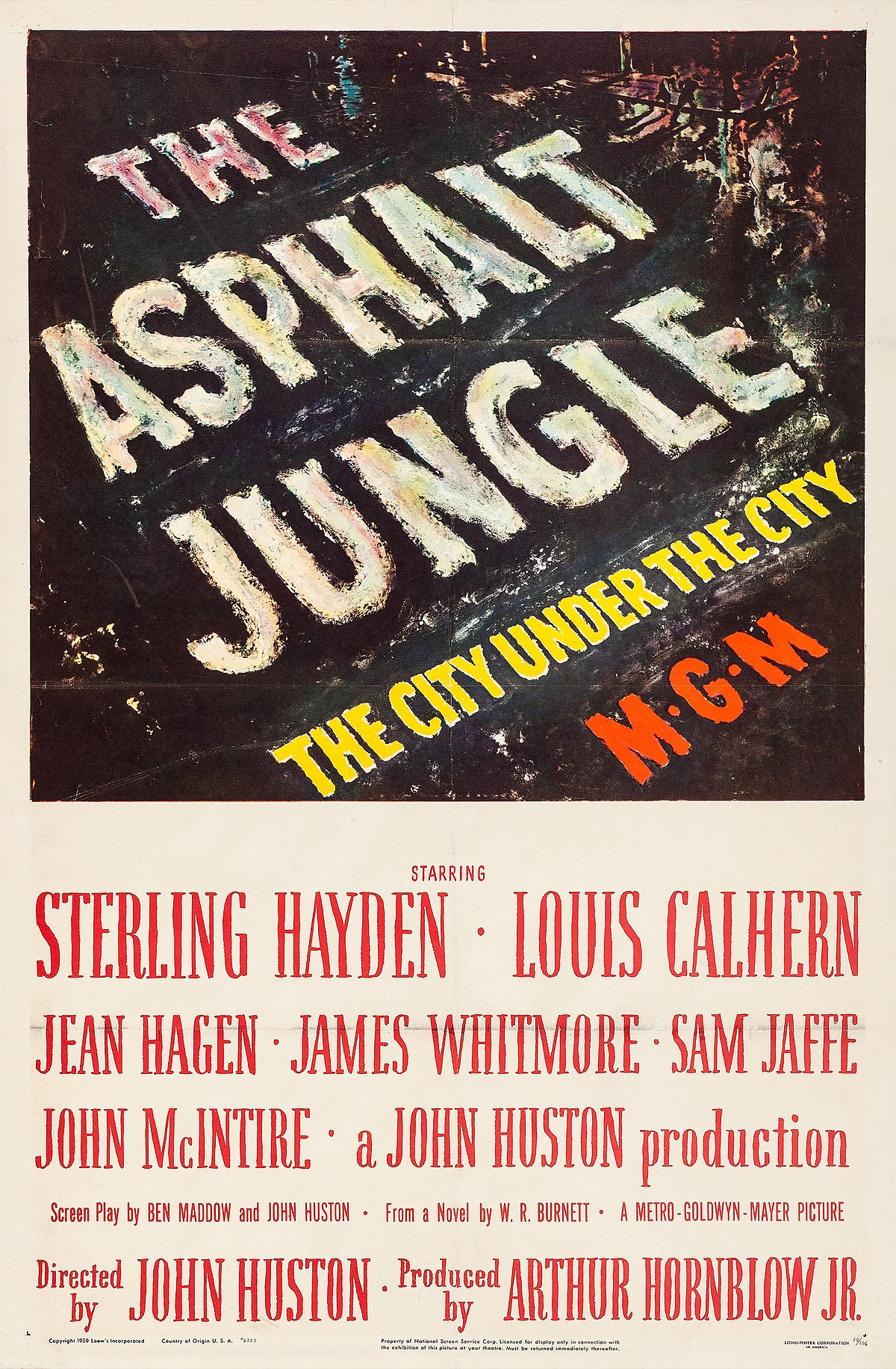The Asphalt Jungle - Wikipedia