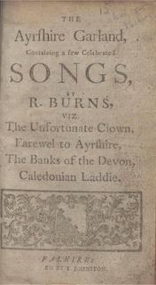 Music of Scotland in the eighteenth century
