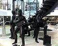 The Beatles statue (1984) by John Doubleday - Cavern Walks Shopping Centre.jpg