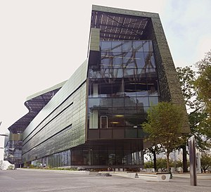 Cornell Tech - The Bridge building