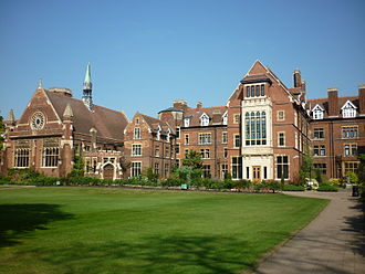 Homerton College, Cambridge - The Cavendish Building.