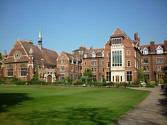 Homerton College, Cambridge - The Cavendish Building.