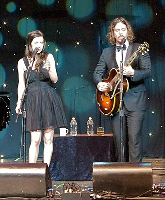 Inaugural recipients The Civil Wars also won in 2014. The Civil Wars 2012.jpg