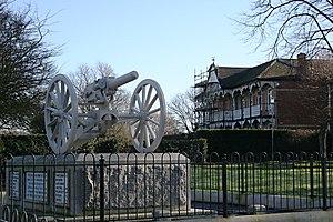 QF 1-pounder pom-pom - Devonport Park (2008)