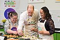 The Duke and Duchess Cambridge at Commonwealth Big Lunch on 22 March 2018 - 065.jpg
