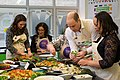 The Duke and Duchess Cambridge at Commonwealth Big Lunch on 22 March 2018 - 135.jpg