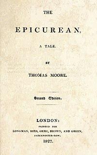 The Epicurean cover