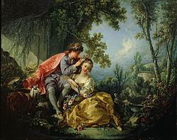 François Boucher: The Four Seasons: Spring