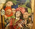 The Good Centurion and Other Men Beneath the Cross, by Derick Baegert, detail, 1477-1478 AD, oil on wood - Museo Nacional Centro de Arte Reina Sofía - DSC08580.JPG