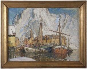 The Harbour at Svolvaer, Lofoten