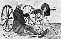 The Invention of the Machine Gun; Hiram Maxim Q81725.jpg