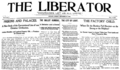 The Liberator (Chicago) front page 1905-09-10.png