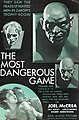 The Most Dangerous Game (1932) one-sheet poster.jpg