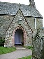 The Parish Church of St Bega, Bassenthwaite,Porch - geograph.org.uk - 579695.jpg