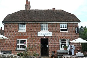 English: The Pot Kiln, Frilsham Still just abo...