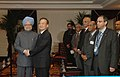 The Prime Minister, Dr. Manmohan Singh meeting with the Prime Minister of China, Mr. Wen Jiabao, during his visit to the United States, in New York on September 24, 2008 (2).jpg
