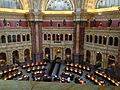 The Reading Room inside the Library of Congress.JPG