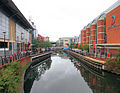 The River Kennet Flowing Through The Oracle Shopping Centre, Reading, Berkshire.jpg