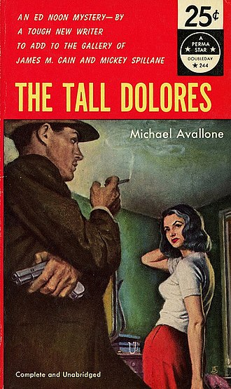Michael Avallone - Cover of The Tall Dolores