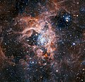 The Tarantula Nebula region imaged with HAWK-I with the Adaptive Optics Facility.jpg