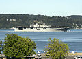 The Wasp-class amphibious assault ship USS Essex (LHD 2) passes the Mukilteo Lighthouse on her way to Naval Station Everett 140728-N-AE328-006.jpg