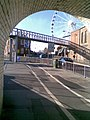 The Yorkshire Wheel from the pedestrian tunnel - geograph.org.uk - 611217.jpg